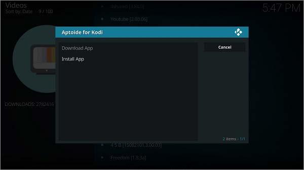 Aptoide Kodi – How to Install Aptoide for Kodi Add-on