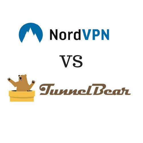 TunnelBear vs NordVPN 2019