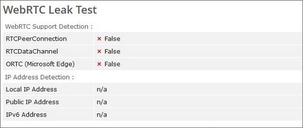WebRTC-Leak-Test