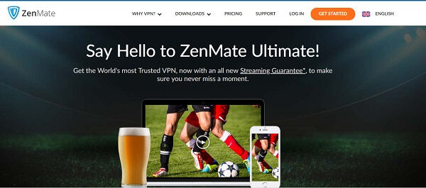 ZenMate is one of the best free VPNs