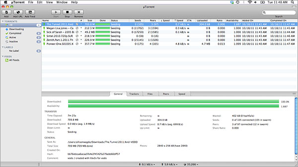 check-progress-for-torrent-on-Mac