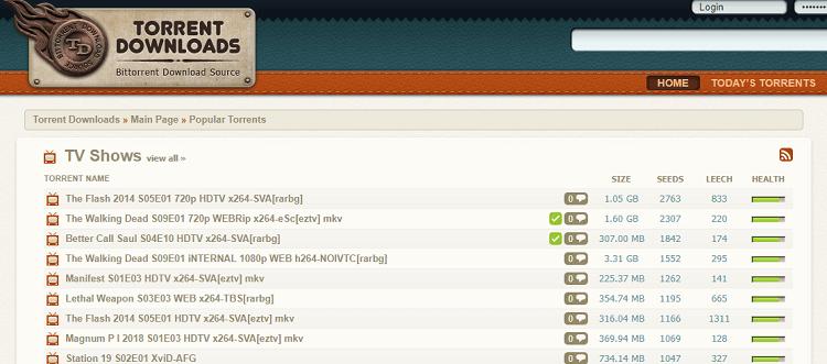 List of porn torrent sites