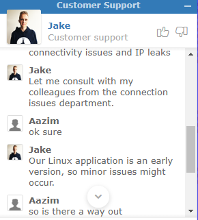 NordVPN-Customer-Support-about-Linux