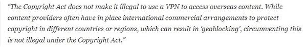 Australia VPN Jurisdiction