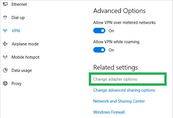 Change-Adapter-Settings