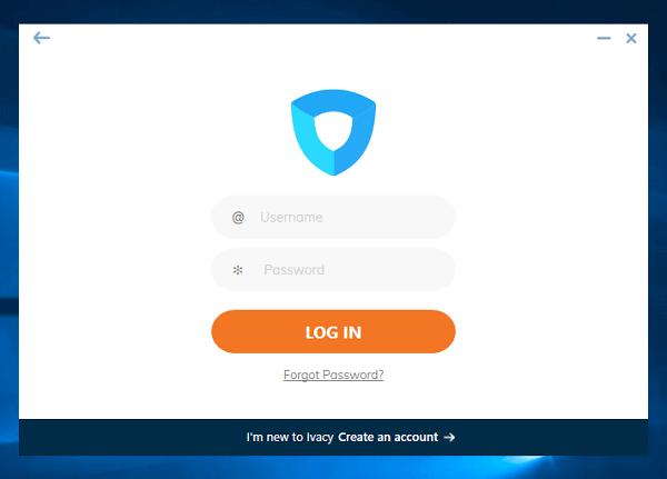 Ivacy-VPN-Login