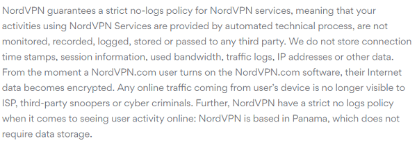 NordVPN-Review-for-Privacy-Policy