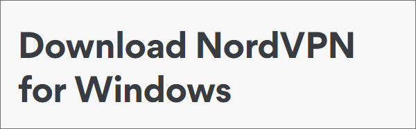 NordVPN-Windows-Download
