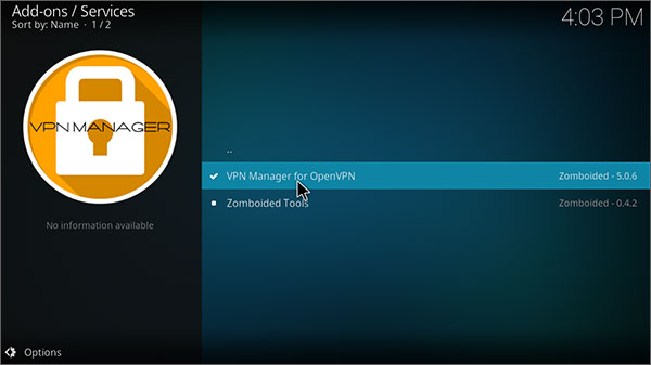OpenVPN-manager