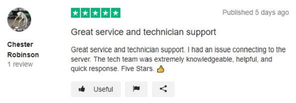 Private-Internet-Access-Review-on-Trustpilot-1