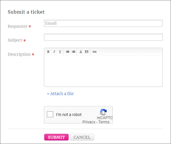 Submit-a-ticket