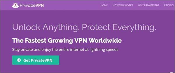 Taiwan-VPN-PrivateVPN