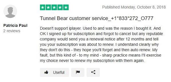 TunnelBear-Review-on-TrustPilot-1