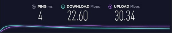 Speed-Test-without-PIA-VPN