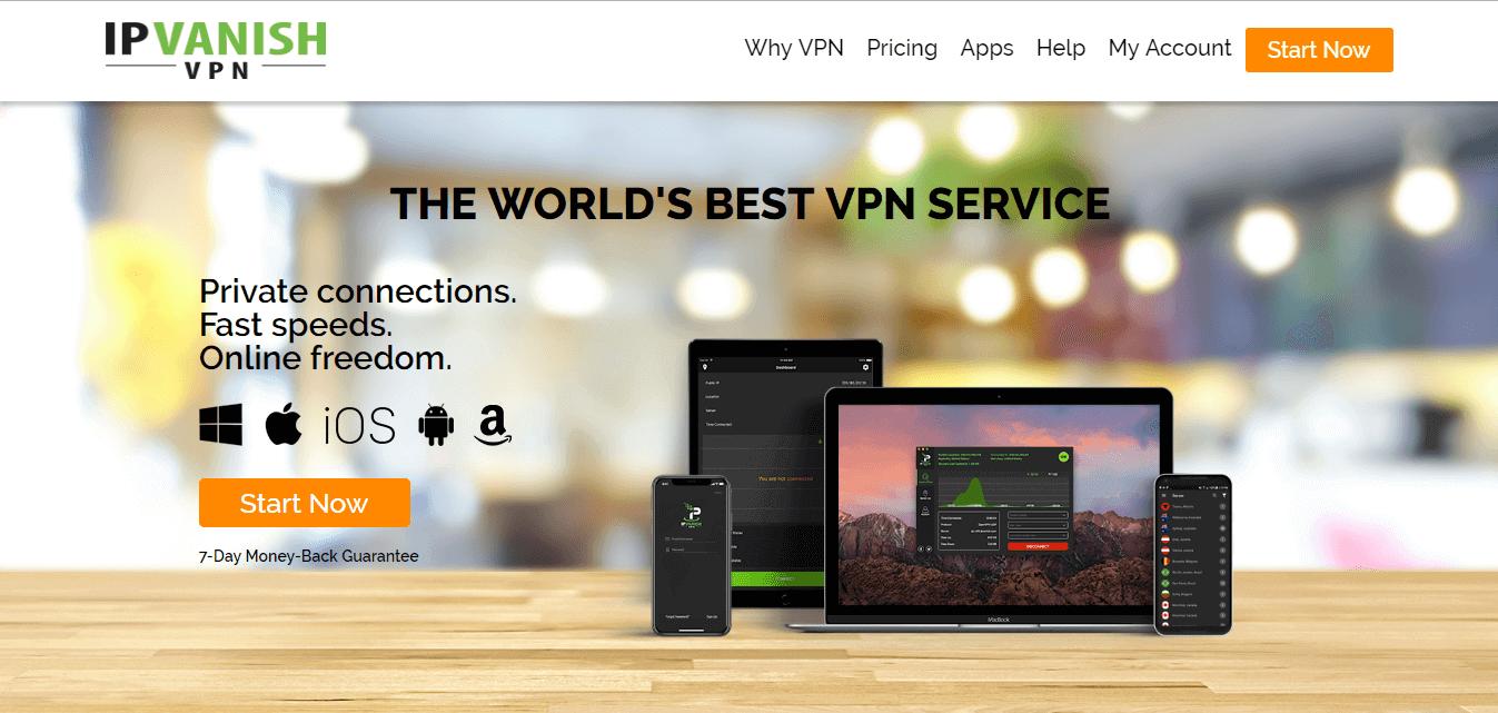 ipvanish-is-reliable-at-unblocking-Pluto TV-outside-US