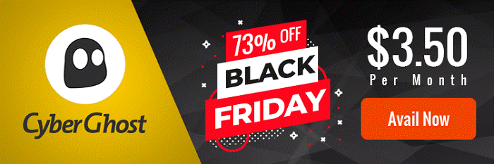 CyberGhost Black Friday Deal 2018