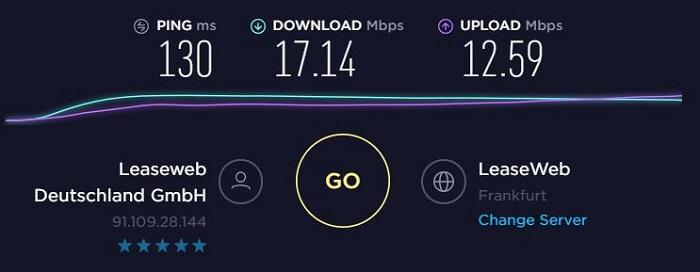 ExpressVPN-Speed-Test-Germany