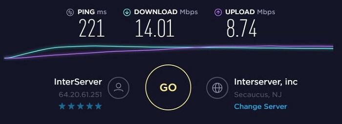 ExpressVPN-Speed-Test-New-Jersey