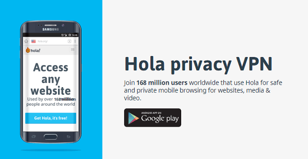 Hola-VPN-Free-Proxy
