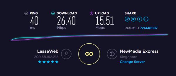 Homebrew-VPN-Speed-Test-for Netflix