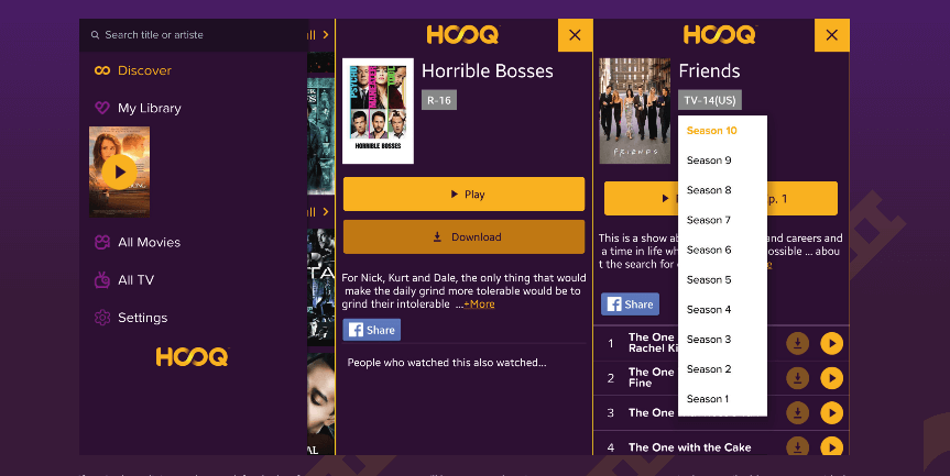 Watch Hooq anywhere in the world