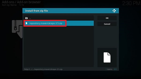 How-to-install-Copy-and-Paste-Kodi-Step-12