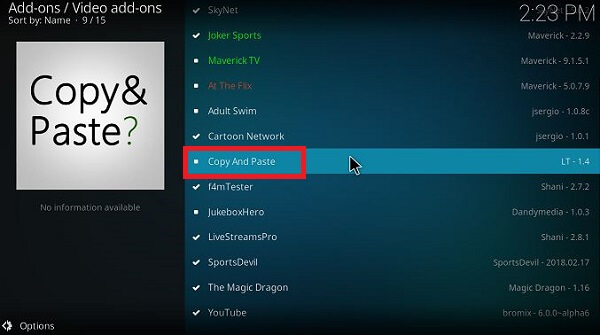 How-to-install-Copy-and-Paste-Kodi-Step-14