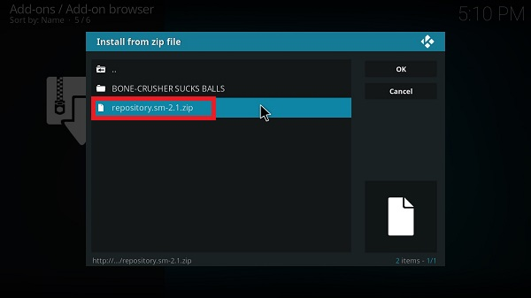 How-to-install-TV-One-Plus-Kodi-Step-12