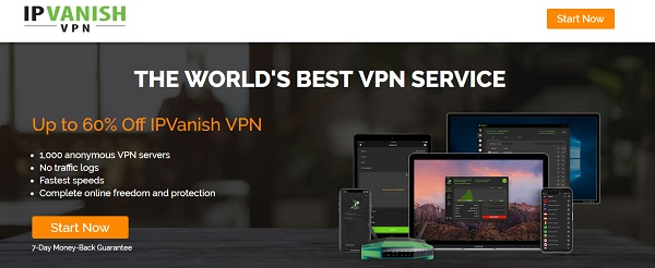 IPVanish - VPN for Unlimited Data