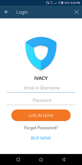 Ivacy-VPN-Android-App-Login
