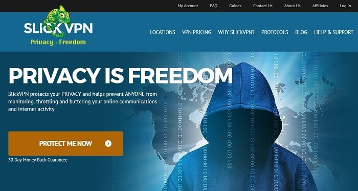 SlickVPN-Website