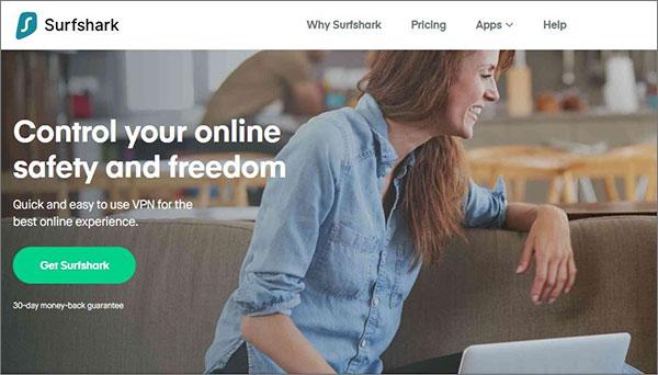 SurfShark VPN Service for China