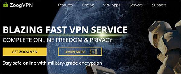 ZoogVPN - Free VPN for Windows PC