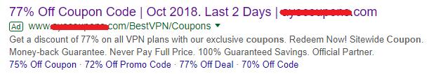 fake-nordVPN-77-percent-advertisment