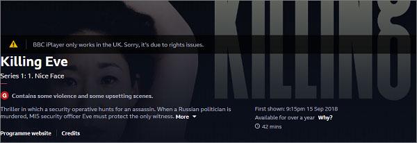 bbc iplayer vpn error