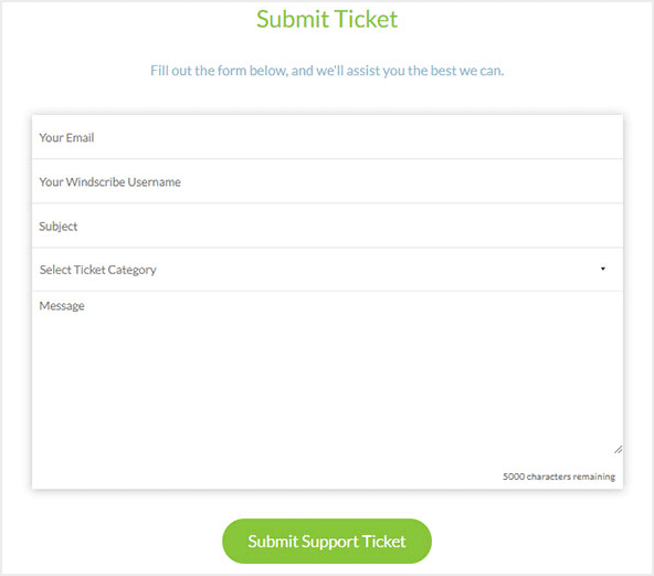 Windscribe-Email-Ticket