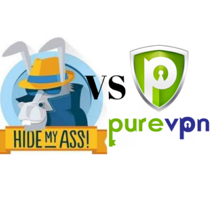 HideMyAss vs PureVPN