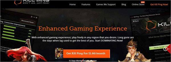 Kill-Ping - Best Gaming VPN