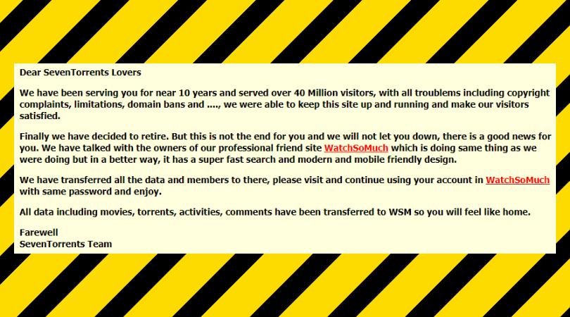 Seven-torrents-official-closure-statement
