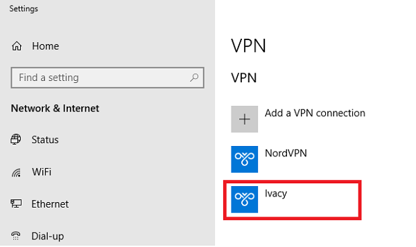 VPN Manual Set up 4