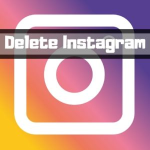 how to delete your instagram account permanently 2018
