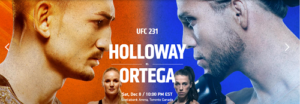 Watch UFC on FireStick – UFC 231 Holloway vs. Ortega from Anywhere