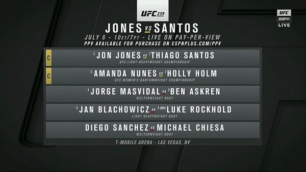 How to Watch UFC on Kodi | UFC 239 Jones vs Santos Free