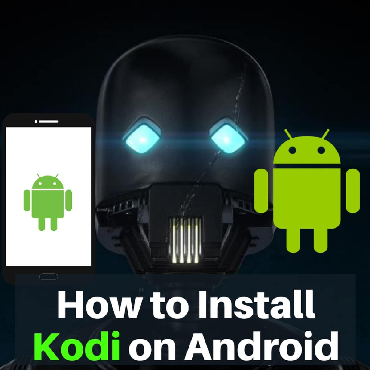How to Install Kodi on Android, Android TV Box