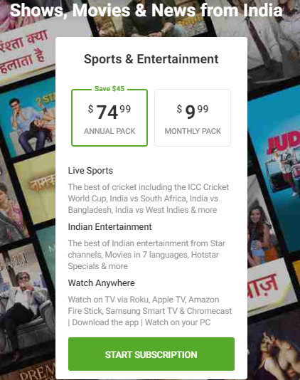 How to Watch Hotstar Outside India [Updated 2019]