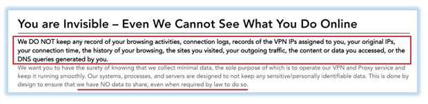 VPN Logging Policies Reveal Only 3 out of 101 Providers are