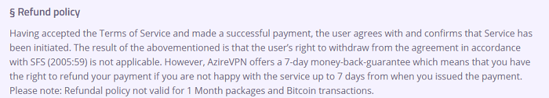 AzireVPN Review 2019 - Many Pros But Major Con
