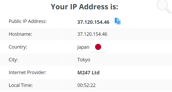 SetupVPN-IP-Leak-Test