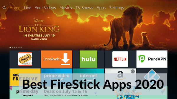 best free streaming apps for firestick