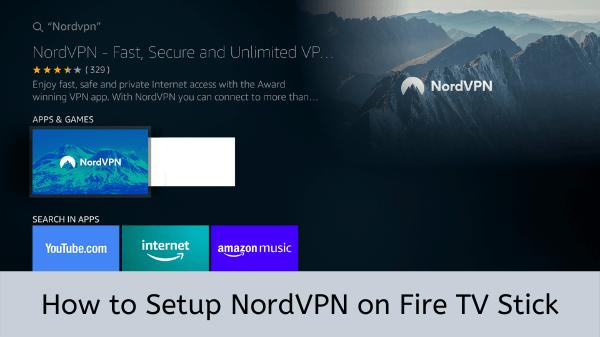 NordVPN-FireStick